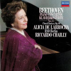 Alicia de Larrocha, Radio-Symphonie-Orchester Berlin, Riccardo Chailly Foto artis