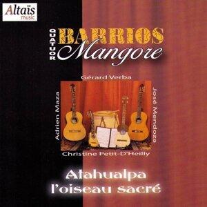 Quatuor Barrios Mangore, Gérard Verba, Christine Petit-D'Heilly, Adrien Maza, José Mendoza Foto artis