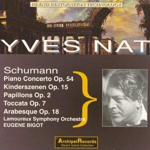Yves Nat, Lamoureux Symphony Orchestra, Eugene Bigot Foto artis
