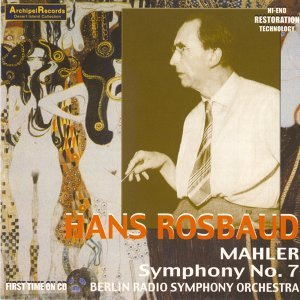 Hans Rosbaud, Berlin Radio Symphony Orchestra Foto artis