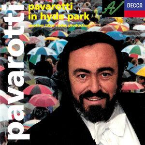 Luciano Pavarotti, Philharmonia Orchestra, Leone Magiera Foto artis