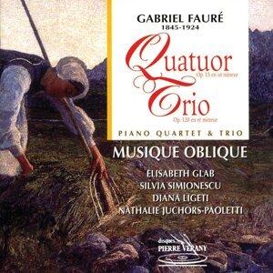 Ensemble Musique Oblique, Elisabeth Glab, Silvia Simionescu, Diana Ligeti, Nathalie Juchors-Paoletti Foto artis