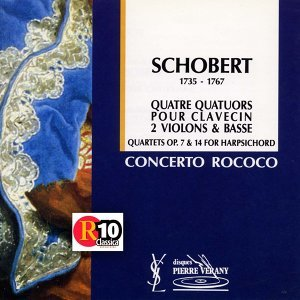 Le Concerto Rococo, Jean-Patrice Brosse, Nicolas Mazzoleni, Nicolas Crisafuli, Emmanuel Balsa Foto artis