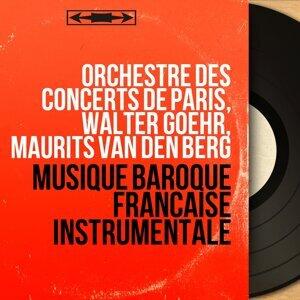 Orchestre des concerts de Paris, Walter Goehr, Maurits van den Berg Foto artis