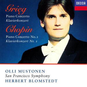 Olli Mustonen, San Francisco Symphony, Herbert Blomstedt Foto artis
