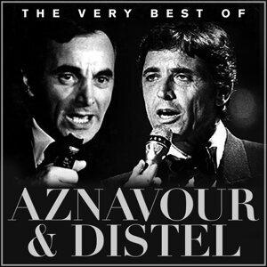 Charles Aznavour, Sacha Distel Foto artis