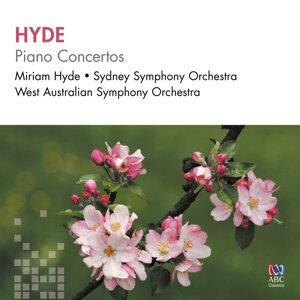 Miriam Hyde, West Australian Symphony Orchestra, Sydney Symphony Orchestra, Geoffrey Simon, Dobbs Franks Foto artis