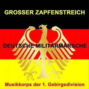 Musikkorps der 1. Gebirgsdivision Foto artis