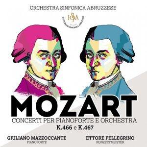 Giuliano Mazzoccante, Ettore Pellegrino, Orchestra Sinfonica Abruzzese Foto artis