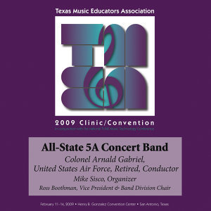 Texas All-State 5A Concert Band Foto artis