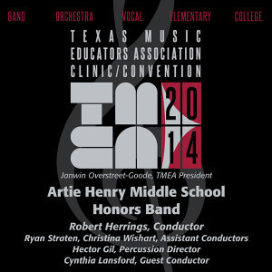 Artie Henry Middle School Honors Band Foto artis