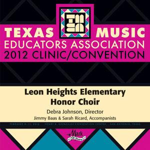 Leon Heights Elementary Honor Choir Foto artis