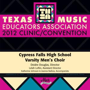 Cypress Falls High School Varsity Men's Choir Foto artis