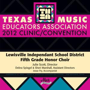 Lewisville Independant School District Fifth Grade Honor Choir Foto artis