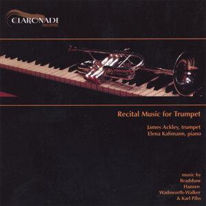 James Ackley, trumpet & Elena Kassmann, piano Foto artis