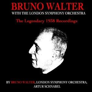 London Symphony Orchestra, Bruno Walter, Artur Schnabel Foto artis