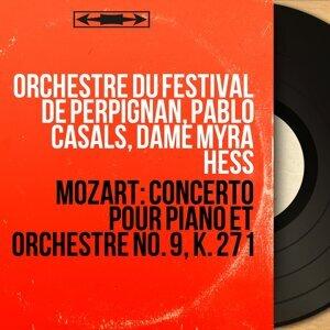 Orchestre du Festival de Perpignan, Pablo Casals, Dame Myra Hess Foto artis