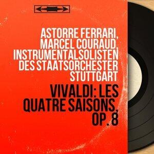 Astorre Ferrari, Marcel Couraud, Instrumentalsolisten des Staatsorchester Stuttgart Foto artis