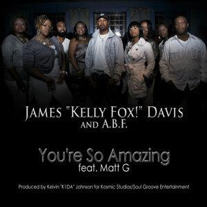 "James ""Kelly Fox!"" Davis, A.B.F. Foto artis"