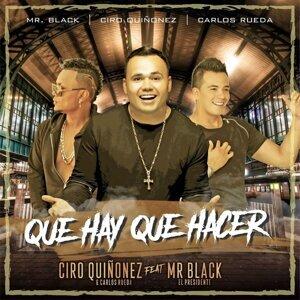 Ciro Quiñónez, Carlos Rueda Foto artis