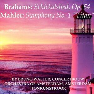 Concertbouw Orchestra of Amsterdam, Amsterdam Toonkunstkoor, Bruno Walter Foto artis