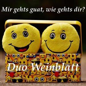 Duo Weinblatt Foto artis