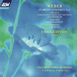 Emma Johnson, English Chamber Orchestra, Yan Pascal Tortelier Foto artis