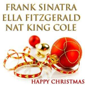 Frank Sinatra, Ella Fitzgerald, Nat King Cole Foto artis