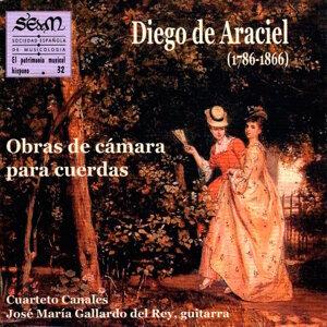 Cuarteto Canales & José María Gallardo del Rey Foto artis
