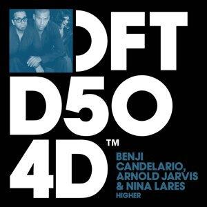 Benji Candelario, Arnold Jarvis & Nina Lares Foto artis