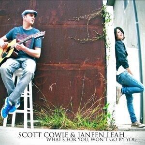 Scott Cowie, Janeen Leah Foto artis