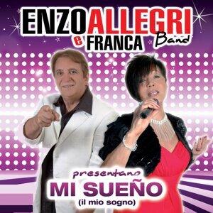Enzo Allegri, Franca Band Foto artis