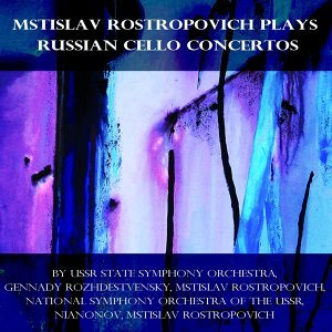 Ussr State Symphony Orchestra, Gennady Rozhdestvensky, Mstislav Rostropovich, National Symphony Orchestra Of The Ussr, Nianonov, Mstlslav Rostropovich Foto artis