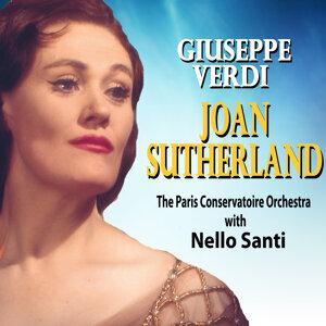 Joan Sutherland and The Paris Conservatoire OrcheStra feat. Nello Santi Foto artis