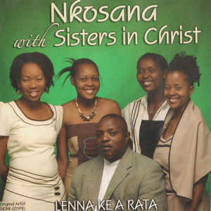 Nkosana With Sisters In Christ Foto artis
