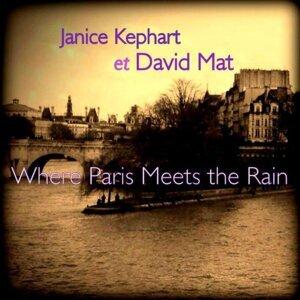 Janice Kephart, David Mat Foto artis