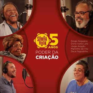 Diogo Nogueira, Martinho da Vila, Zeca Pagodinho, Jorge Aragão & Dona Ivone Lara Foto artis