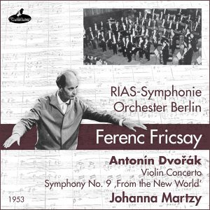 Rias Symphonie Orchester Berlin, Johanna Martzy, Ferenc Fricsay Foto artis