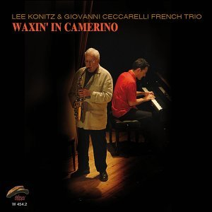 Lee Konitz & Giovanni Ceccarelli French Trio Foto artis