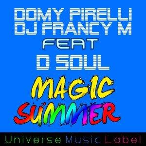 Domy Pirelli, DJ Francy M Foto artis
