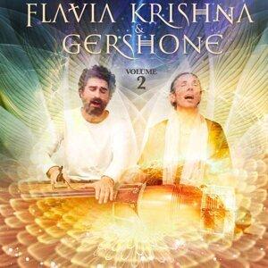 Flavia Krishna & Gershone Foto artis