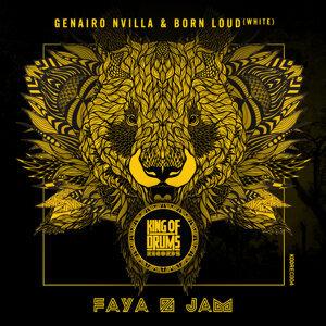 Genairo Nvilla & Born Loud (white) Foto artis