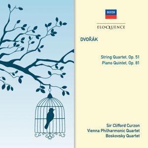 Sir Clifford Curzon, Vienna Philharmonic Quartet, Boskovsky Quartet Foto artis