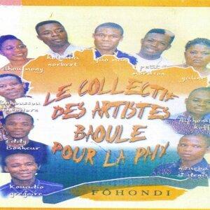 Le collectif des artistes baoulé pour la paix Foto artis
