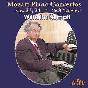 Wilhelm Kempff, Bamberg Symphony Orchestra, Berlin Philharmonic Orchestra & Ferdinard Leitner Foto artis