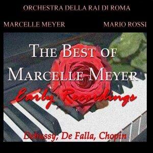 Orchestra della Rai di Roma, Mario Rossi, Marcelle Meyer Foto artis