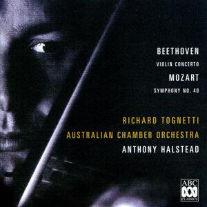 Richard Tognetti, Anthony Halstead, Australian Chamber Orchestra Foto artis