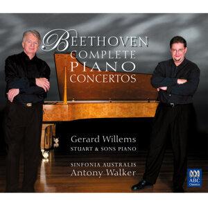 Sinfonia Australis, Antony Walker, Gerard Willems Foto artis