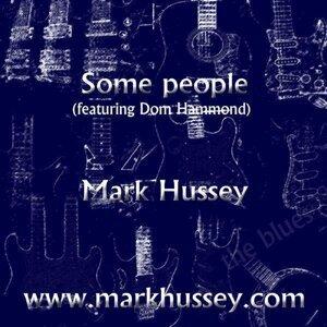 Mark Hussey with Dom Hammond Foto artis