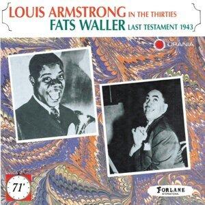 Louis Armstrong, Fats Waller Foto artis